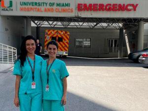 Internato Emergência, Universidade de Miami, em 2019